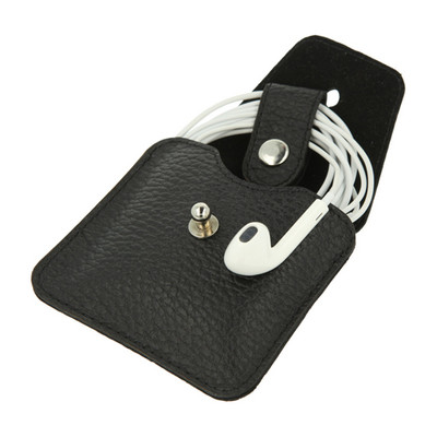 Image of Valenta Earphone Case Black