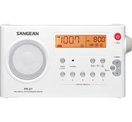 Sangean PR-D7 Wit