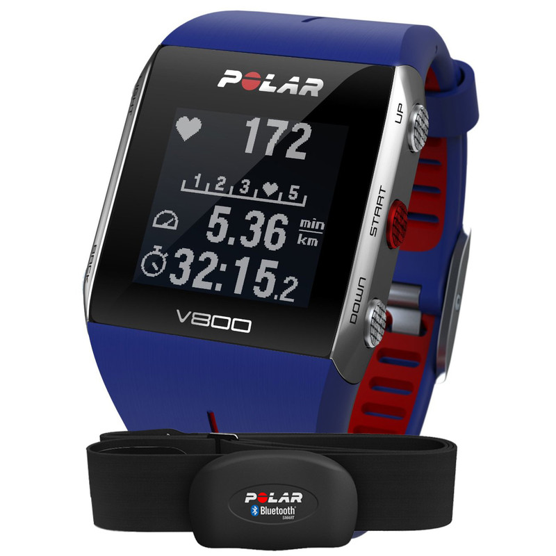 Polar V800 Blue/red Hr
