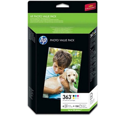 HP 363 Photo Pack 150 Vel (Q7966EE)