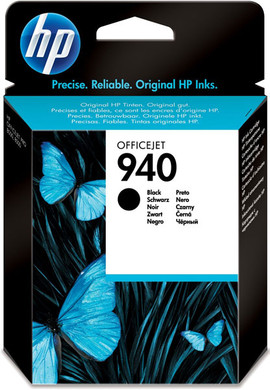HP 940 Black Ink Cartridge (zwart) C4902AE