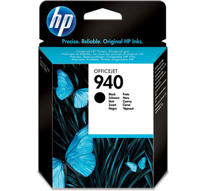 HP 940 Black Ink Cartridge (zwart) C4902AE