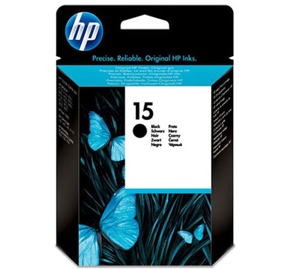 HP 15 Cartridge Zwart (C6615NE)