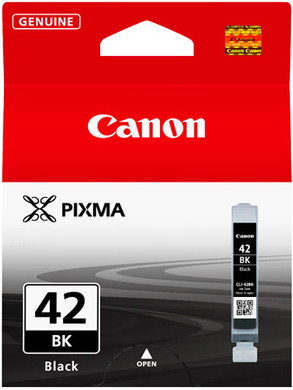Canon CLI-42BK Cartridge Zwart (6384B00)
