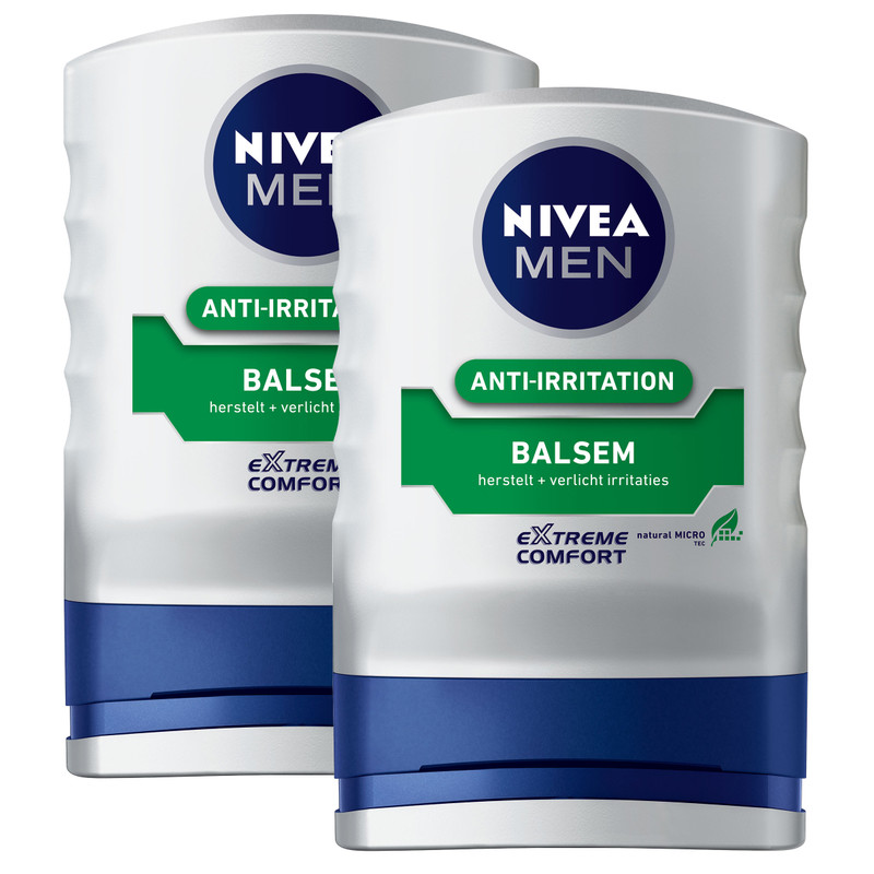 2x Nivea Men Extreme Comfort Aftershave Balsem