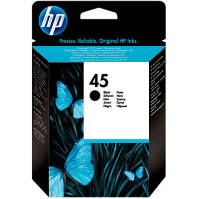 HP 45 Cartridge Zwart (51645GE)