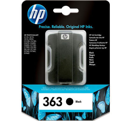 HP 363 Cartridge Zwart (C8721EE)