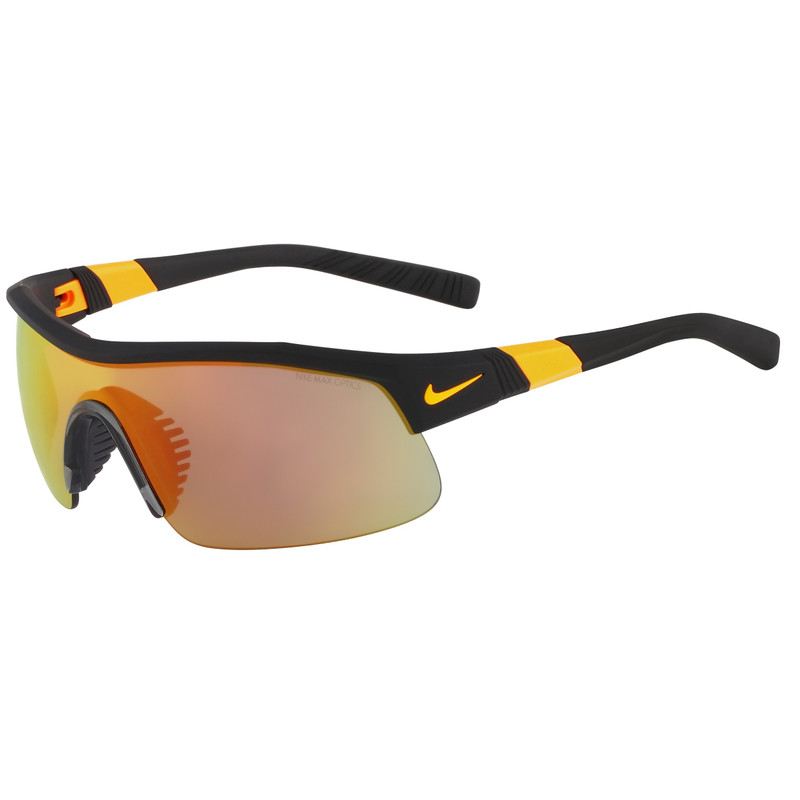 Nike Show X1 Matte Black/grey Ml Orange Flash Lens