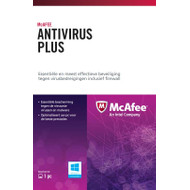 McAfee Antivirus Plus Activation Card 1 jaar abonnement