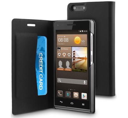 Muvit Folio Case Huawei Ascend G6 G3 Zwart