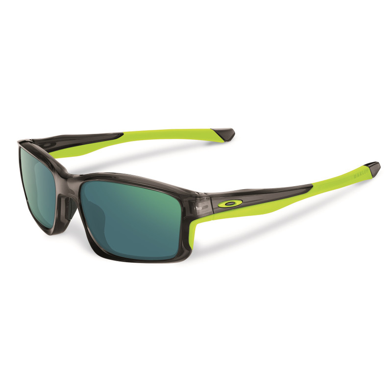 Oakley Chainlink Grey Smoke/jade Iridium Polarized