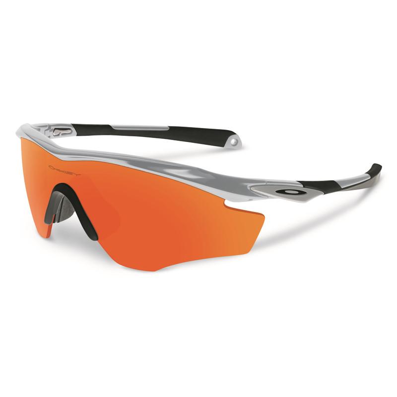 Oakley M2 Frame Silver/fire Iridium