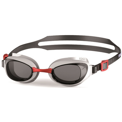 Speedo Aquapure Red/Smoke