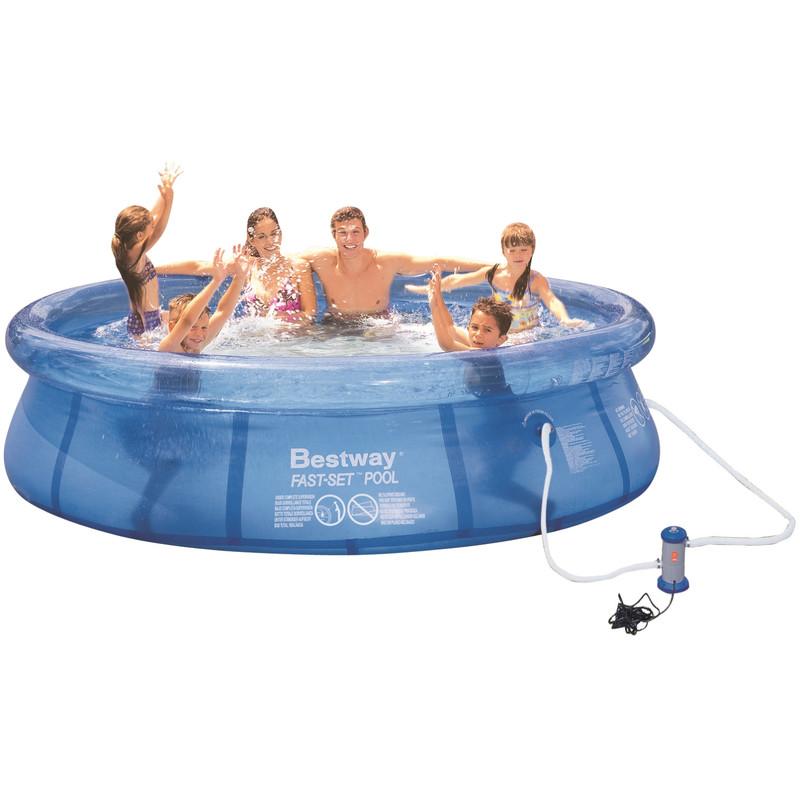 Bestway zwembad kopen prijskrijger for Afdekzeil zwembad blokker