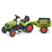 Falk Tractor Met Trailer Claas Arion 410