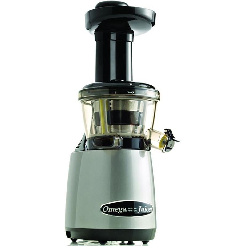 Omega Juicers Omega Vertical Slowjuicer 80 RPM Silver VRT402HDS 1 exemplaar