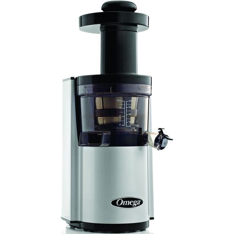 Omega Juicers Omega Vertical Slowjuicer Super Low Speed 43 RPM Silver VSJ43RS 1 exemplaar