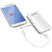 Celly Power Bank 4500 mAh White