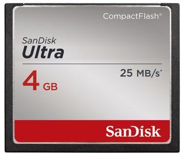 Sandisk CF Ultra 4GB 25mb/s