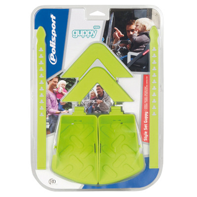 Image of Polisport Guppy Mini style set groen