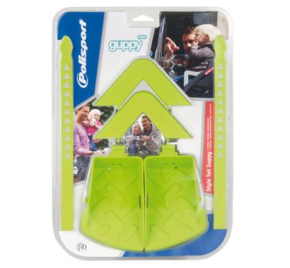 Polisport Guppy Mini Stylingset Groen