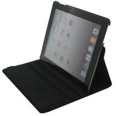 Xccess Leather Case iPad 2 / 3 / 4 Zwart