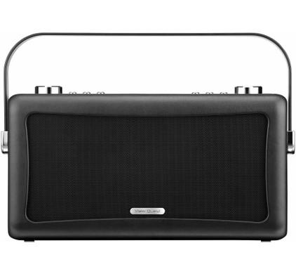 View Quest Hepburn DAB+ Bluetooth Speaker Zwart