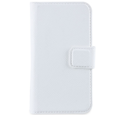 Muvit Wallet Case iPhone 4 / 4S Wit