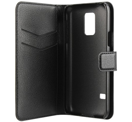 Xqisit Slim Wallet Case Samsung Galaxy S5 Mini Black