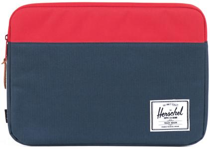 Herschel Anchor Sleeve MacBook Pro 15'' Blauw/Rood