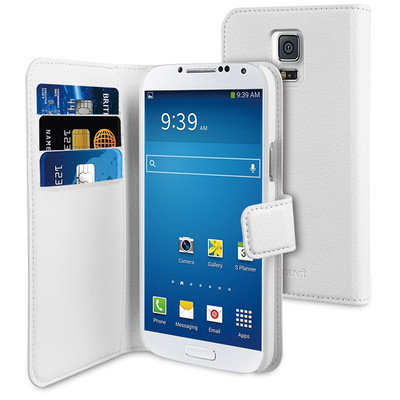 Muvit Wallet Case Samsung Galaxy S5 Mini White