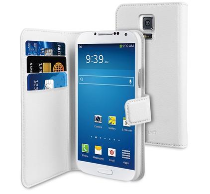 Muvit Wallet Case Samsung Galaxy S5 Mini White