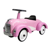 Retro Roller Cadillac Roze