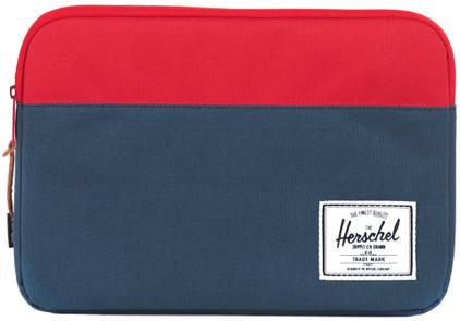 Herschel Anchor Sleeve MacBook Air 11'' Blauw/Rood