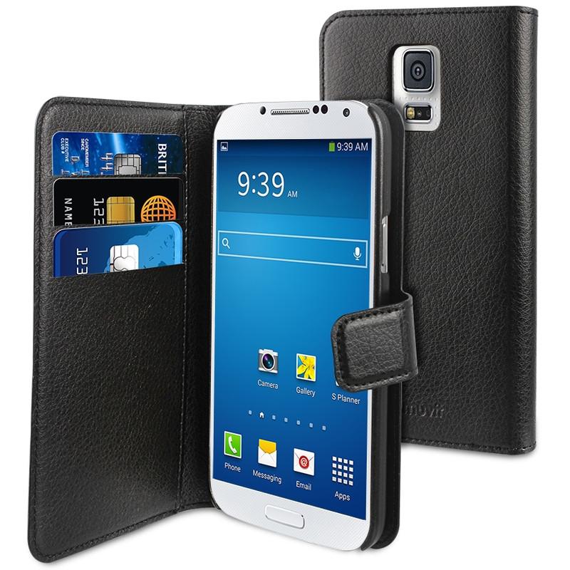 Muvit Wallet Case Samsung Galaxy A5 Zwart