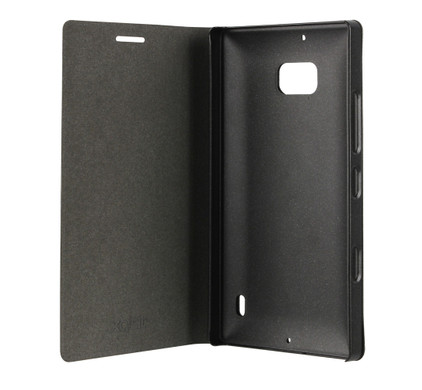 Xqisit Folio Case Viskan Nokia Lumia 930 Black Metallic