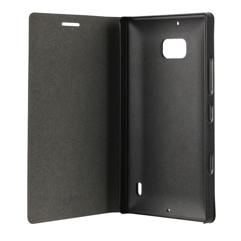 Xqisit Folio Case Viskan Nokia Lumia 930 Black Metallic