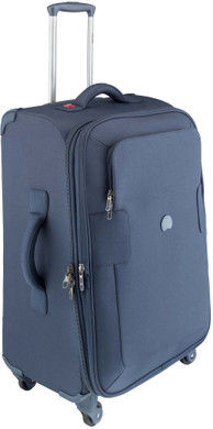 Delsey Tuileries 4 Wheel Expandable Trolley Case 68 cm Blue