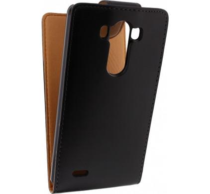 Xccess Leather Flip Case LG G3 Black