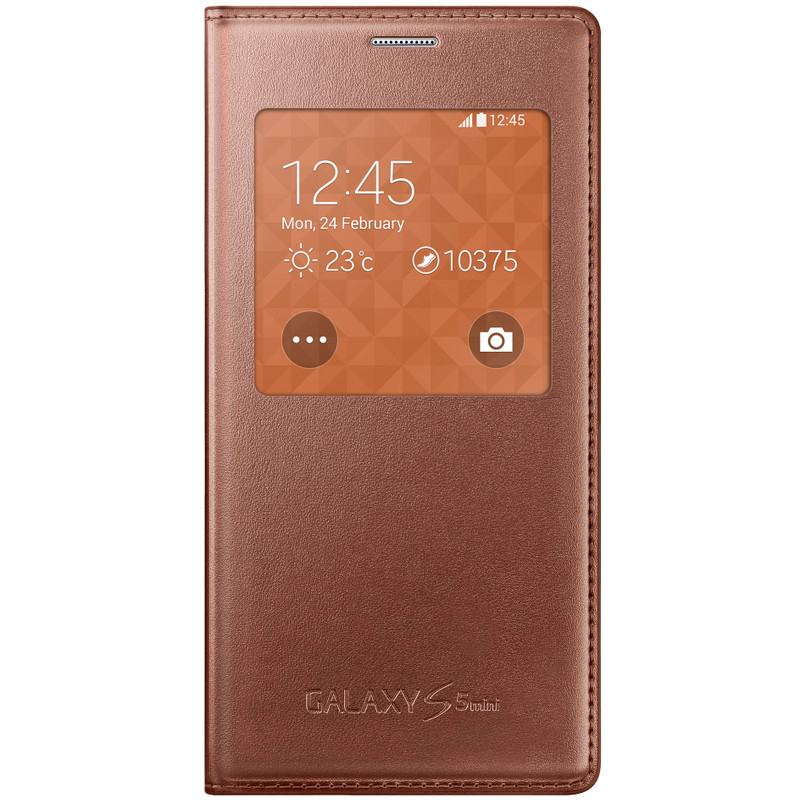Samsung Galaxy S5 Mini S View Cover Rose Gold