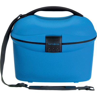 Image of Samsonite Cabin Collection Beautycase Strap Electric Blue