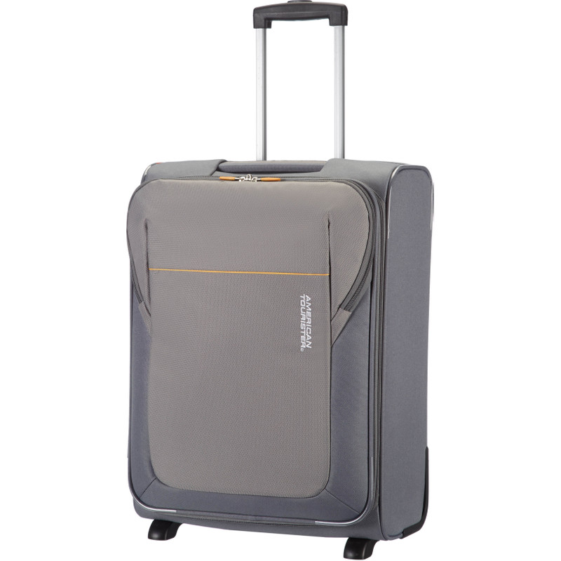 American Tourister San Francisco Upright Strict Grey 2-wieltjes - S