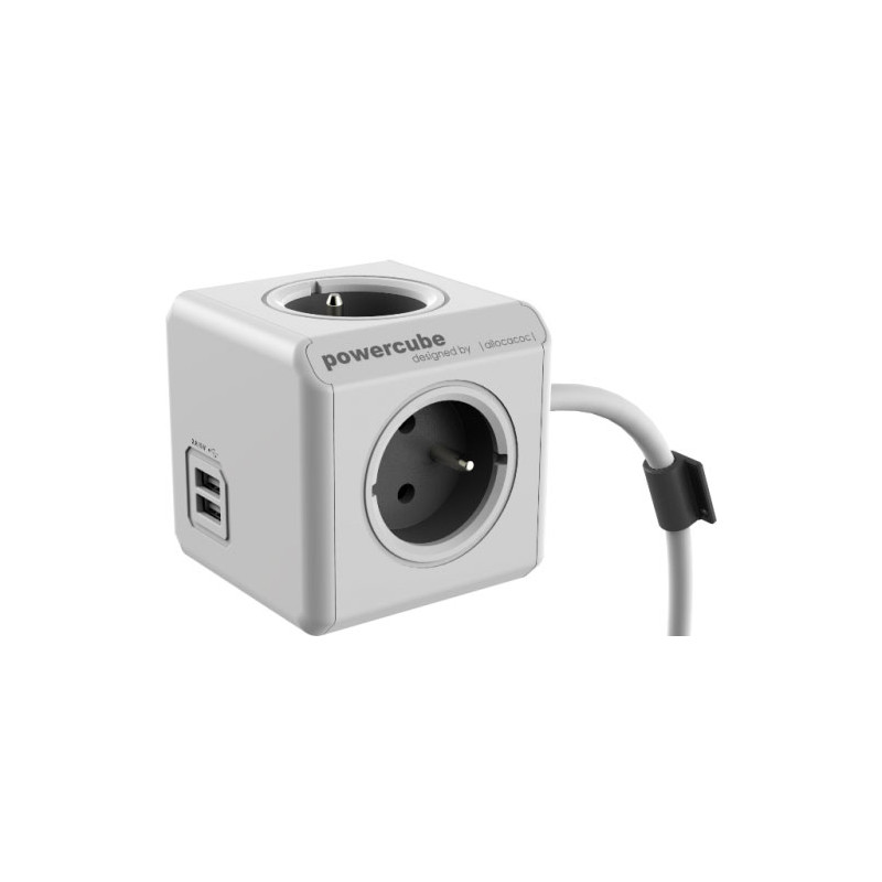 Powercube Usb 4-voudige Stekkerdoos 1 5m Be