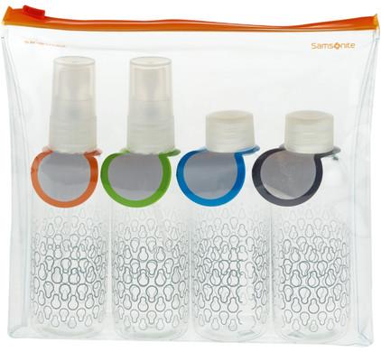 Samsonite C-O Toiletry Bottle Set