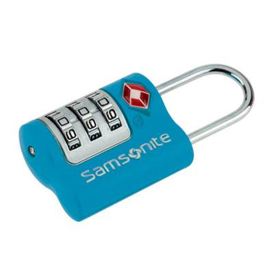 Samsonite US Air TR. 3 Dial Combilock Blue
