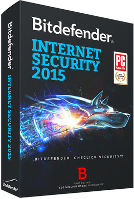 Bitdefender Internet Security 2015 2 Jaar 3 PC