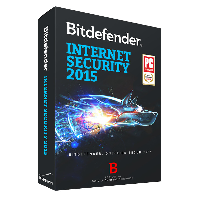 Bitdefender Internet Security 2015 1 Jaar 3 Pc