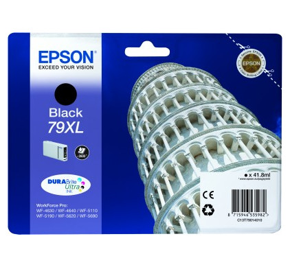 Epson 79 XL Cartridge Zwart C13T79014010