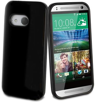 Muvit Minigel Case HTC One Mini 2 Zwart