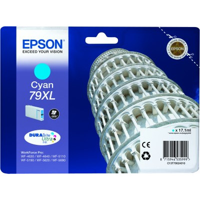 Epson 79 XL Cartridge Cyaan
